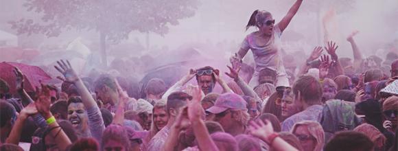 Eventfilm über das Farbgefühlefestival in Saarbrücken auf dem Messegelände Saarbrücken produziert
