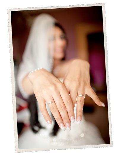 Hochzeitsfotograph Saarland Hochzeitspaar mit Ringen