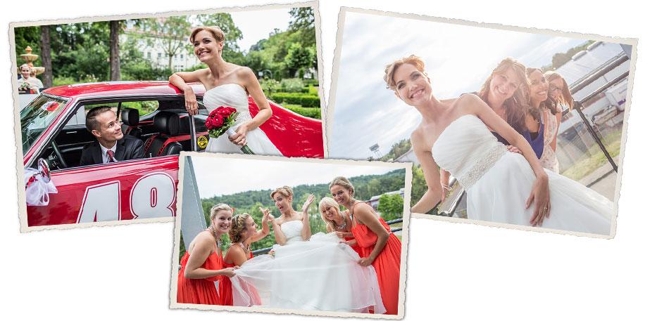 Dreihundertbilder der Hochzeitsfotograf aus dem Saarland Brautbilder